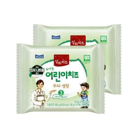 매일 상하 유기농 어린이치즈 3단계 80매/치즈/이유식