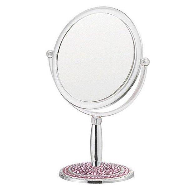 빠띠라인 크리스탈 탁상양면거울-02 거울 양면거울 상품이미지