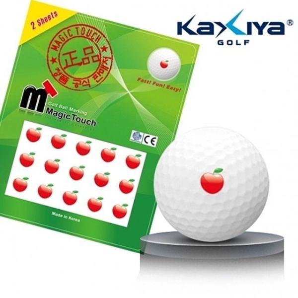 골프공 스티커 매직터치 사과 상품이미지