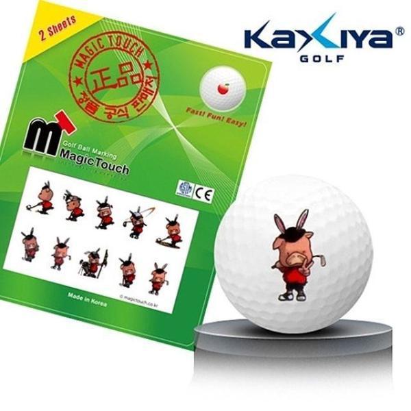 골프공 스티커 매직터치 돼지골프 상품이미지