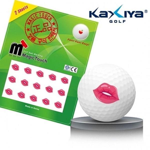 골프공 스티커 매직터치 입술 상품이미지