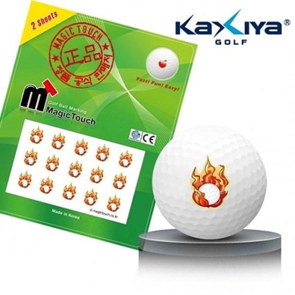 골프공 스티커 매직터치 파이어볼 상품이미지