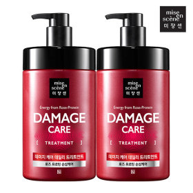 [mise en scene] mise en scene Damage Care treatment large 1000ML X2