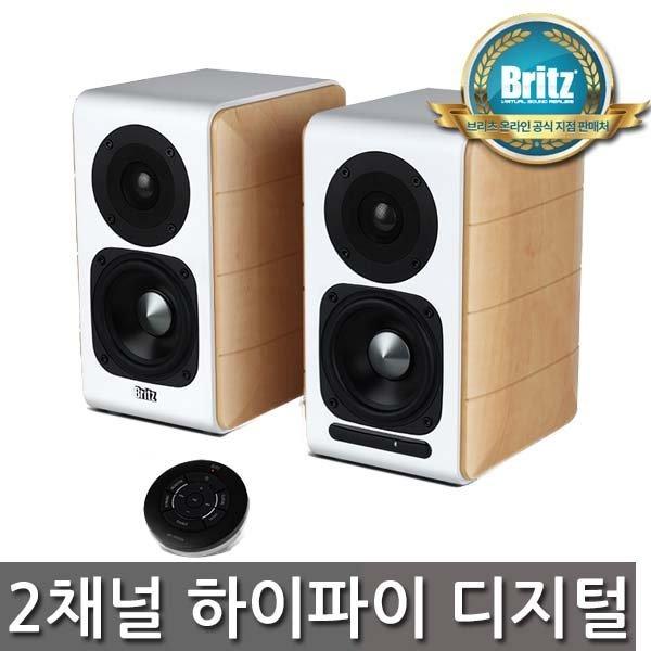 브리츠 공식대리점  BR-1900DB 하이파이 블루투스 디지털 스피커 무선리모컨 88W 무선리모컨 상품이미지