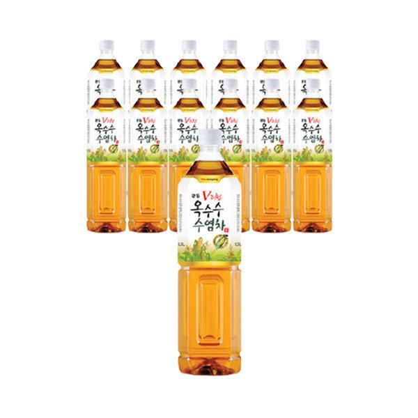 옥수수수염차 1.5L x 12pet/음료/음료수/차/헛개차 상품이미지