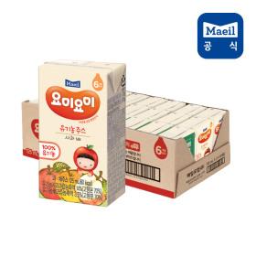 요미요미 사과배 유기농주스 125ml 24팩/쥬스