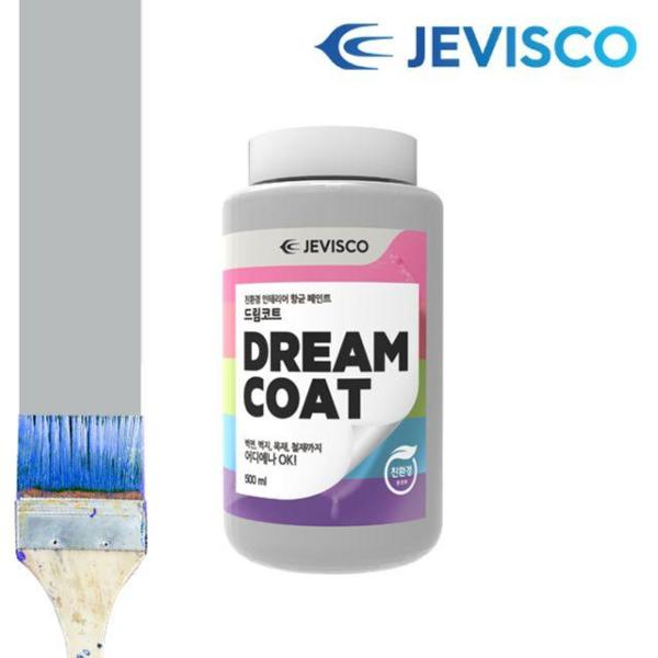 제비스코 드림코트 크리스탈 그레이 0.5L 벽지페인 상품이미지