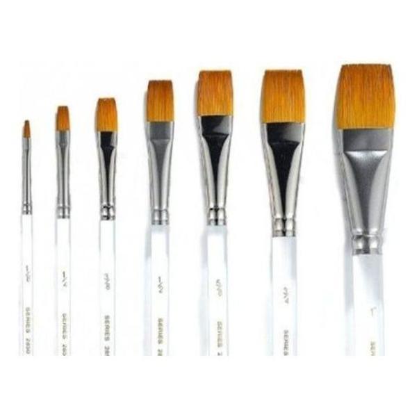 바바라구성붓 2850-A 1/8호 낱자루 - 34449 상품이미지