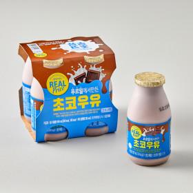 리얼)초코우유 225ML 4입