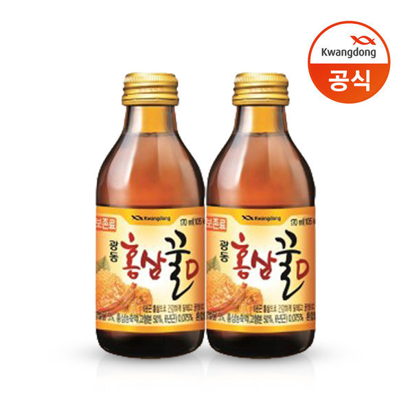 홍삼꿀D 170ml x 40병/홍삼/꿀/음료수 상품이미지