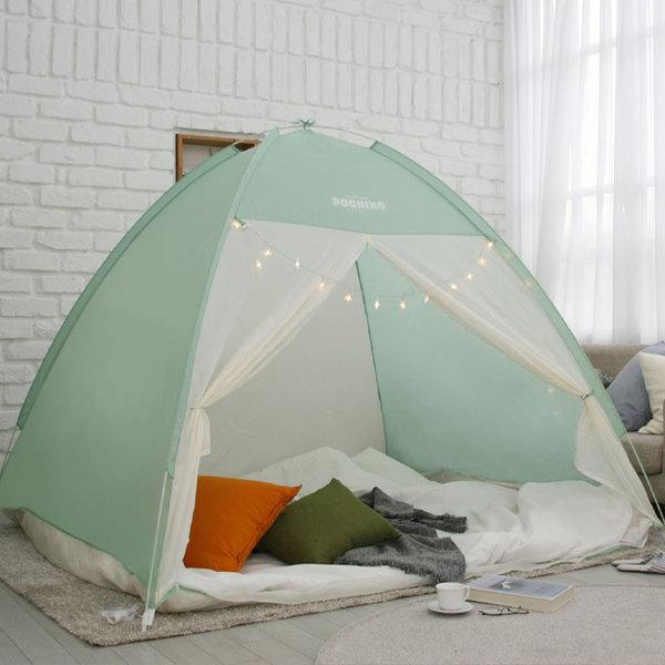 빈슨메시프 포그니 원터치 방한 난방 보온 텐트 (더블) 상품이미지