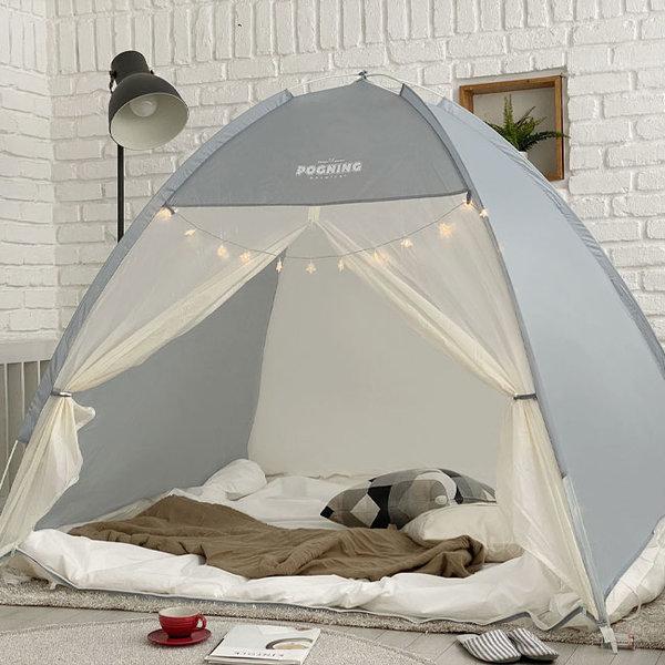 빈슨메시프 포그니 원터치 방한 난방 보온 텐트 (킹) 상품이미지