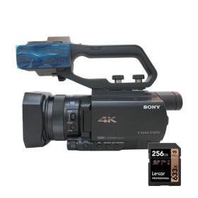 소니정품 HXR-NX80 4K지원256G/융증정 캠코더 XLR유닛