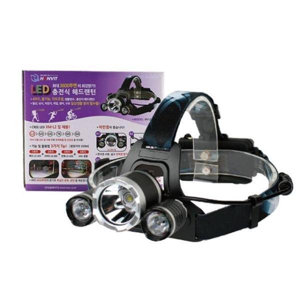 3600루멘 LED 충전 줌 헤드랜턴 낚시용랜턴 충전식 상품이미지