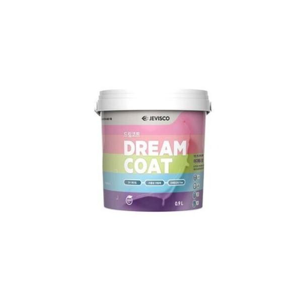 제비스코 드림코트 블랙 0.9L 벽지페인트 셀프페인 상품이미지