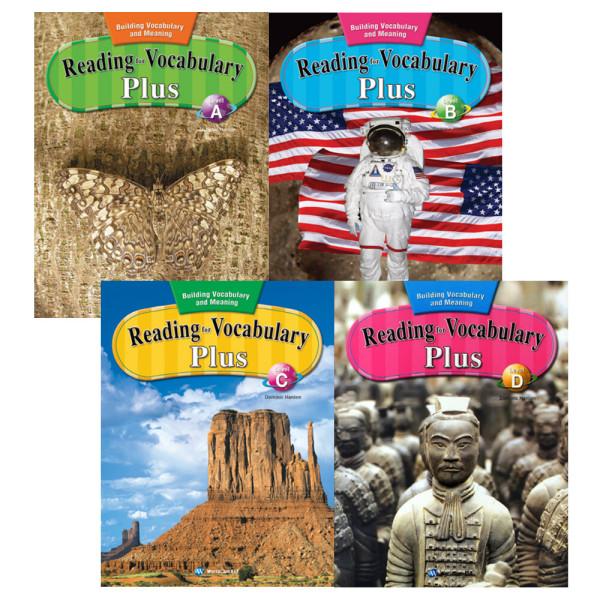 Reading for Vocabulary Level A B C D / 전4권+휴대폰거치대증정 상품이미지