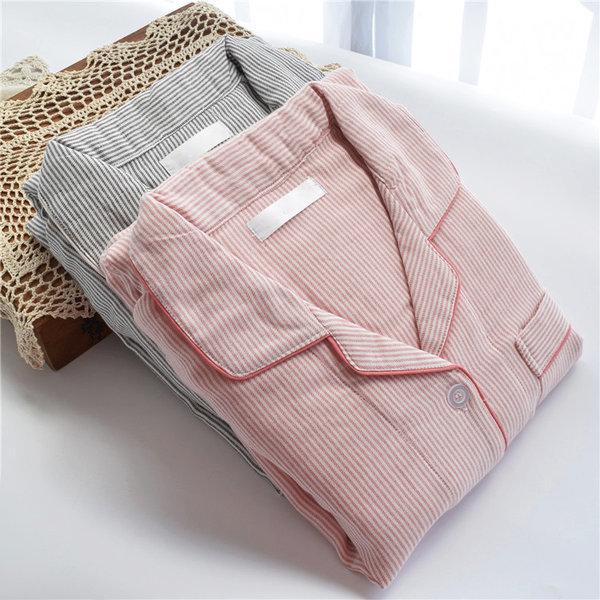 고급순면 100% 스트라이프 잠옷세트 홈웨어 파자마 상품이미지