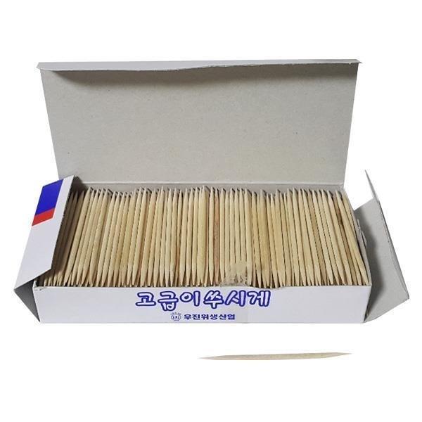 종이상자 요지통 자작나무 이쑤시개 상품이미지