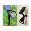 태양광 7컬러 무지개 투광등 정원등 잔디등 LED조명