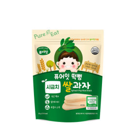 PURE-EAT Organic Spinach Pop Rice Snack
