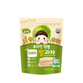 PURE-EAT Organic Cabbage Pop Rice Snack