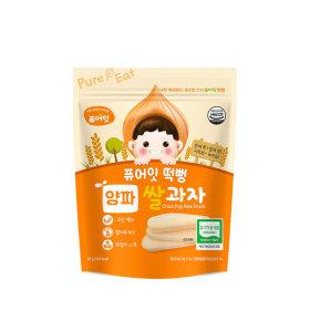 PURE-EAT Organic Onion Pop Rice Snack
