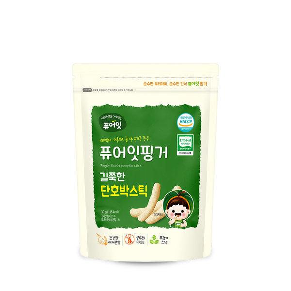 퓨어잇핑거 유기농 길쭉한 단호박스틱 상품이미지
