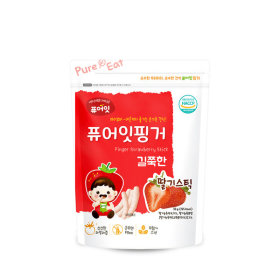 PURE-EAT Finger Brownrice Strawberry Stick