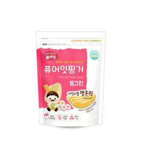 PURE-EAT Finger Brownrice Xylitol Melon Ring