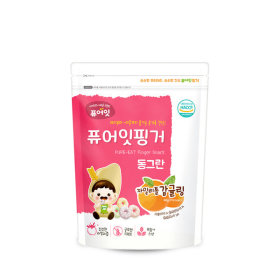 PURE-EAT Finger Brownrice Xylitol Tangerine Ring