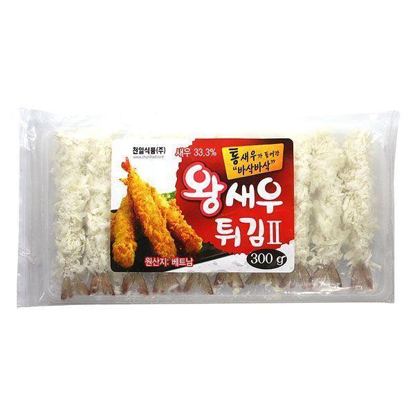 (냉동)천일 왕새우튀김 300g x5개 상품이미지