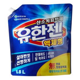 유한양행_유한젠산소계액체표백제리필_1.8L