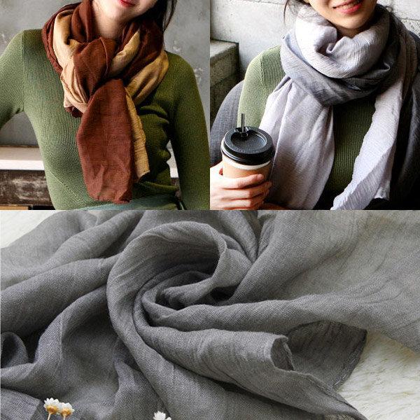 여성 파스텔 롱스카프 머플러 목도리 가을 겨울 여자 상품이미지