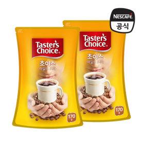 테이스터스 초이스 마일드모카 파우치170g+170g /커피