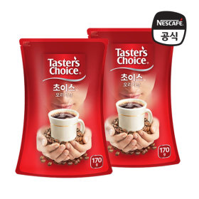 테이스터스 초이스 오리지날 파우치170g+170g /커피