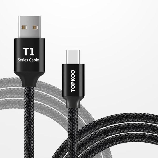 핸드폰 USB C타입 갤럭시 LG 고속 충전 케이블 2M 상품이미지