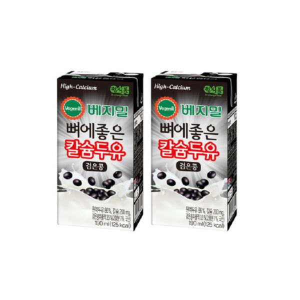 베지밀뼈에좋은칼슘검은콩두유190mlx48팩 상품이미지
