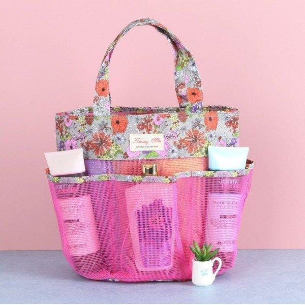 물빠지는 포켓 목욕가방-핑크(PK) 무료배송 당일발송 상품이미지