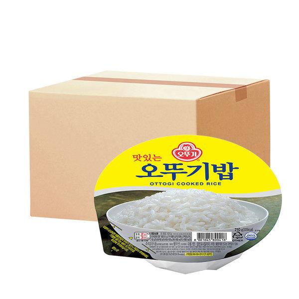 맛있는 오뚜기밥 210g 24개 상품이미지