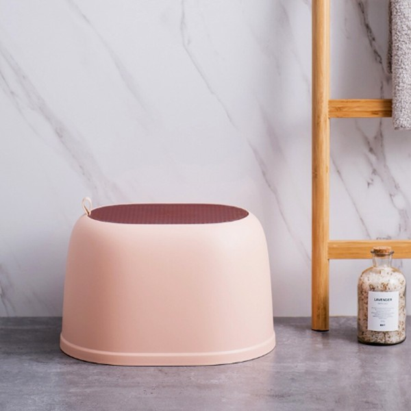 무핀 심플 욕실의자(핑크) 상품이미지
