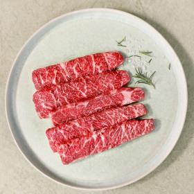 블랙앵거스 소고기 본갈비살 냉장 300g+고기소스 증정