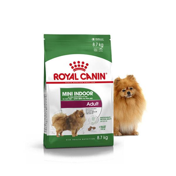 미니 인도어 어덜트 8.7kg +사은품 /강아지 사료/애견 상품이미지