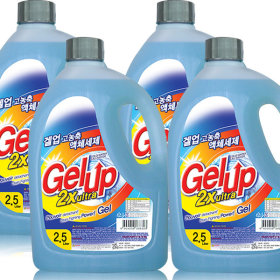Gelup ultra liquid detergent 2.5Lx4pcs(Regular)