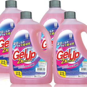 Gel Up ultra liquid detergent 2.5Lx4pcs(front-loader)