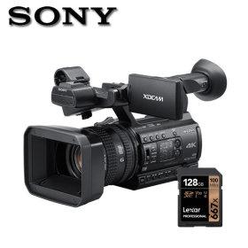 소니정품 PXW-Z150 4K지원128G/융증정 4K업무용캠코더