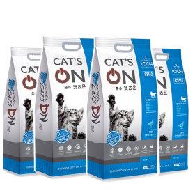 캣츠온 5kg X 4개 고양이사료 무료배송