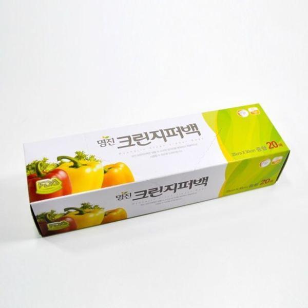 슈가랩 사탕수수 에코지퍼백(중)(18x20cm)(20매) 상품이미지