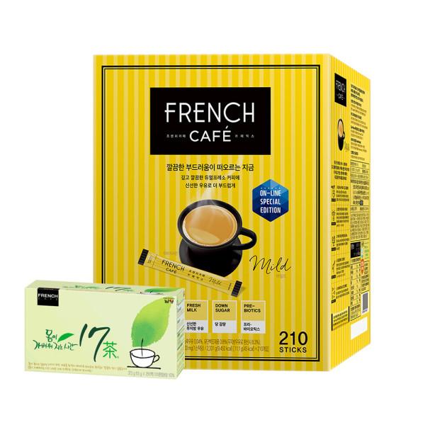 카페믹스/믹스커피/ 프렌치카페 커피믹스 210T+맛쿡3종 상품이미지