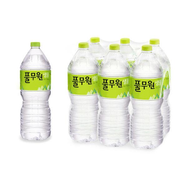 풀무원샘물 2Lx12 생수 대용량생수 먹는샘물 물 상품이미지