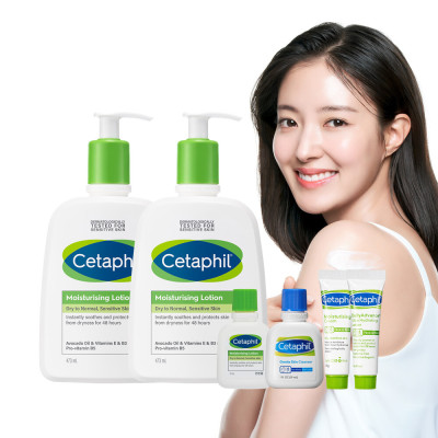 Cetaphil large 1+1(lotion 473ml+ lotion 473ml)